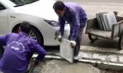 """Vỉa hè Hà Nội: Chuyển từ """"đá bền trăm năm"""" sang gạch giả đá, tiết kiệm tiền tỷ"""
