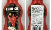 Bộ Y tế nói gì về 18 nghìn chai tương ớt Chin-su bị Nhật thu hồi?