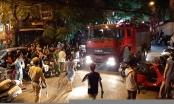 Chung cư Capital Garden chập điện, cư dân hoảng loạn tháo chạy