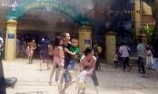 Cháy trường mầm non giữa trưa, người dân phá cổng sơ tán hàng trăm học sinh