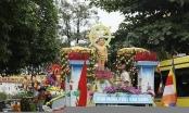 400 xe hoa diễu hành và lễ tắm Phật lớn nhất Hà Nam chào mừng Vesak 2019