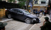 SỐC - Nữ tài xế Camry lùi xe cán chết người ở Hà Nội là đại tá công an