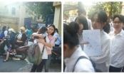 Thi vào lớp 10 ở Hà Nội: Gần 500 thí sinh vắng mặt buổi thi đầu tiên