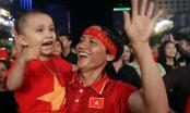 Đêm rực rỡ bởi chiến thắng của ĐT Việt Nam