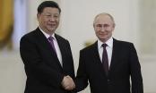 """Tổng thống Nga Putin: """"Quan hệ Nga-Trung đạt trình độ chưa từng thấy"""""""