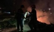 Tối qua, cháy lớn trên bán đảo Sơn Trà