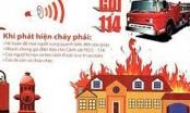 Nắng nóng, Bộ Công an hướng dẫn cách xử lý khi hỏa hoạn