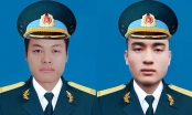 Máy bay quân sự rơi ở Khánh Hòa: Thăng quân hàm 2 phi công hy sinh