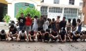 Hàng chục dân chơi tại Hưng Yên bị bắt giữ khi đang tung cánh trong phòng karaoke