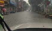 Nhiều tuyến phố nội đô Hà Nội nguy cơ ngập nặng do ảnh hưởng bão số 3