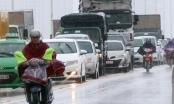 Nhiều tuyến đường, nút giao thông Hà Nội tê liệt sau mưa lớn kéo dài