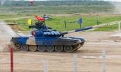 Đội Việt Nam giành huy chương Bạc môn đua xe tăng trong hội thao quốc tế tại Nga