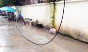 TPHCM:  Bị dây điện rơi trúng người tử vong khi đang ngồi uống cà phê