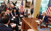 Tổng thống Mỹ Trump gặp Phó Thủ thướng Trung Quốc Lưu Hạc