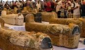 Ai Cập công bố 30 quan tài xác ướp 3.000 năm tuổi