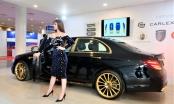 'Lác mắt' trước Mercedes-Benz E 300 AMG mạ vàng của đại gia Việt