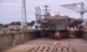Hàng không mẫu hạm USS John F. Kennedy có thể mang tới 90 máy bay chiến đấu