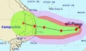 Dự bao thời tiết ngày 9/11: Bão số 6 cực mạnh hướng vào 7 tỉnh miền Trung