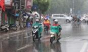 Không khí lạnh tràn về gây mưa ở một vài nơi
