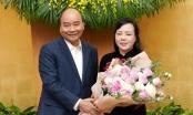 Nguyên Bộ trưởng Nguyễn Thị Kim Tiến có nhiều đóng góp cho ngành y tế