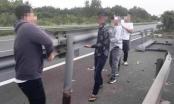 Nhiều tài xế bị triệu tập vì tháo dải phân cách cao tốc Long Thành?