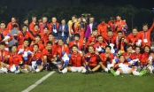 Thủ tướng mở tiệc mừng đón 2 đội tuyển bóng đá vô địch SEA Games 30