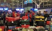 U23 Việt Nam nửa đêm ra sân bay, lên đường tập huấn Hàn Quốc