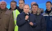 Tổng thống Nga Putin chia sẻ cảm xúc trên cây cầu dài nhất châu Âu