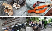 Bị vây bắt, 2 cẩu tặc hung hãn dùng mác chém 2 cảnh sát bị thương