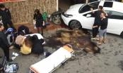Nghi vấn bác sĩ say rượu lái ô tô tông trọng thương đồng nghiệp trên phố Hà Nội