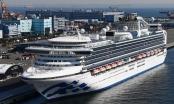 Số người nhiễm virus corona trên du thuyền Nhật Bản tăng vọt lên 136 người