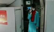 Hành động bất ngờ của tiếp viên trên chuyến bay chi viện tâm dịch COVID-19