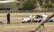 Hai máy bay va chạm ở độ cao 1.200m làm 4 người thiệt mạng