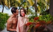 Hồ Ngọc Hà tung ảnh mặc gợi cảm, tình tứ bên Kim Lý giữa thiên đường Maldives