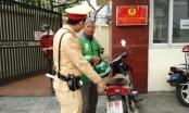 CSGT xử phạt hàng loạt tài xế xe máy vì lỗi liên quan tới biển số