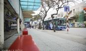 Giờ cao điểm, xe buýt ở Hà Nội vẫn ế khách vì dịch Covid-19