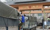 Cả ngàn xe nông sản nằm chờ qua khẩu để sang Trung Quốc