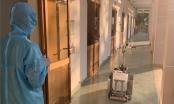 Bệnh viện dã chiến Củ Chi đưa robot khử khuẩn vào hoạt động trong phòng cách ly
