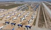 Đại dịch Covid-19: Hàng nghìn máy bay phải xếp hàng, 'đắp chiếu'