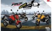 Honda MSX125SF trình làng: Giá từ 51 triệu đồng