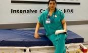 Y tá chống dịch Covid-19: 'Tôi rút máy thở và giúp họ ra đi bình yên'
