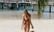 Siêu mẫu cao 1m80 Tori Praver nóng bỏng 'chết người' với áo tắm