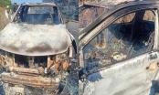 Chiếc xe bán tải của Bí thư xã cháy rụi là hiện trường giả vụ giết người