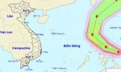 Xuất hiện bão giật cấp 14 gần biển Đông