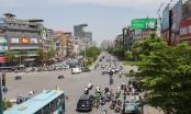Nắng nóng như thiêu đốt trên đường phố Hà Nội