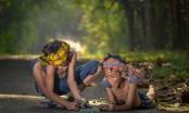 Những bức ảnh kể về niềm vui của trẻ em Việt Nam và trẻ em thế giới