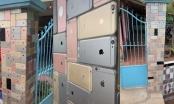 Căn nhà ở Việt Nam bỗng chốc nổi tiếng vì ốp tường rào bằng... iPhone