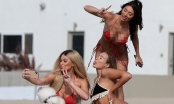Ba mỹ nhân game show 18+ Too Hot to Handle diện bikini 'đốt cháy' biển hè