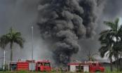 Cháy kho hóa chất ở Long Biên: Nguyên nhân do chập điện