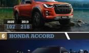 Những mẫu xe bán chậm nhất 6 tháng đầu năm 2020